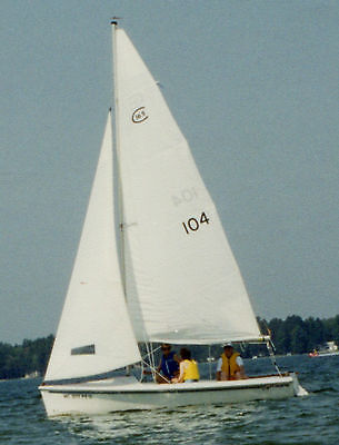 Catalina Capri 16.5 foot sailboat with Trailer in northern Michigan