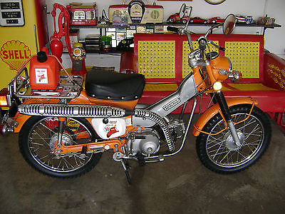 Honda : CT 1973 honda trail ct 90 time capsule same owner 41 years texaco fire chief cycle