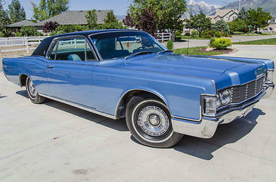 Lincoln : Continental Coupe 1968 lincoln continental coupe 104 k rebuilt engine near original cond