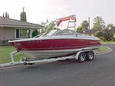 21' Wake Board Boat - 2005 Monterey 214 FS with 2 axle trailer with brake assist