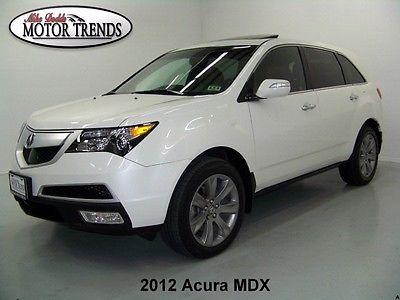 Acura : MDX AWD ADVANCE NAV 2012 acura mdx advance awd tech pkg nav rearcam adaptive cruise 1 owner 44 k