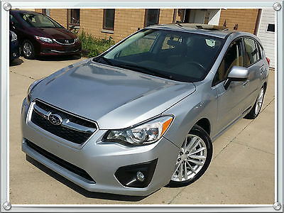 Subaru : Impreza Limited  Free shipping/flight Hatchback Limited AWD Only 9,995 Miles Leather Moonroof A-1