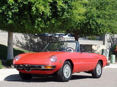 Alfa Romeo : Spider Graduate Spider 1974 alfa romeo spider 100 rust free 39 k original miles gorgeous must see