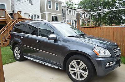 Mercedes-Benz : GL-Class GL450 Steel Gray with black interior, fully loaded including rear entertainment system