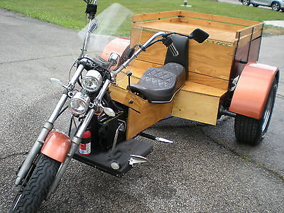 Custom Built Motorcycles : Other DON'T MISS THIS CUSTOM VW TRIKE, CHROME WHEELS, L@@K!!