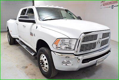 Dodge : Ram 3500 SLT Big Horn 4x4 Cummins Diesel Mega cab Truck FINANCING AVAILABLE!! 84k Miles Used 2011 Dodge Ram 3500 4x4 Pickup Bluetooth