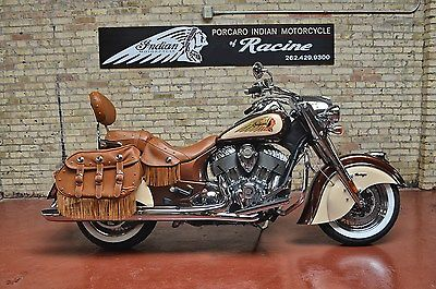 Indian Chief Vintage 2015 Custom Paint Rootbeer Cream