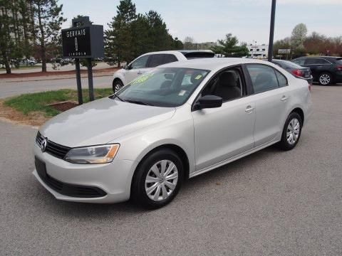 2011 VOLKSWAGEN JETTA 4 DOOR SEDAN