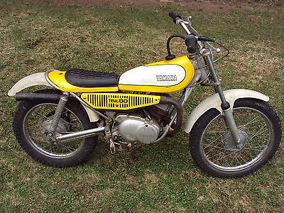 Yamaha : Other 1974 yamaha ty 80 trials vintage motorcycle