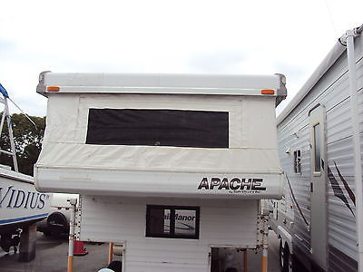 Apache 6.0SB Slide in Truck Camper Pop Up Light and easy to use Low Reserve