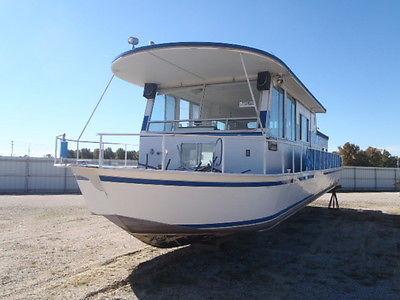 1976 47' Seamaster Houseboat house boat