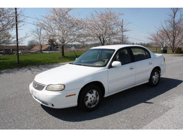 Chevrolet : Malibu 4dr Sdn 1999 99 malibu no reserve non smoker a c