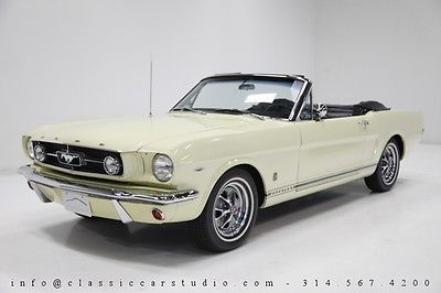 Ford : Mustang GT 1965 ford mustang gt convertible fully restored w rallye pack gauges ac c 4