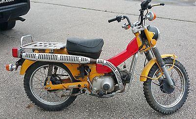 Honda : CT 1978 honda ct 90 trail 90 motorcycle incomplete 419 miles