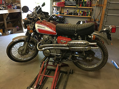 Honda : CL 1973 honda cl 350 scrambler runs new paint new carbs nice