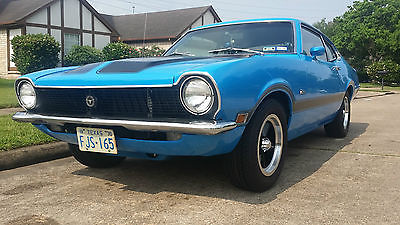 Ford : Other Grabber 1970 70 ford maverick grabber blue v 8 289 4 speed 8 3 55 posi 2 door 289 302