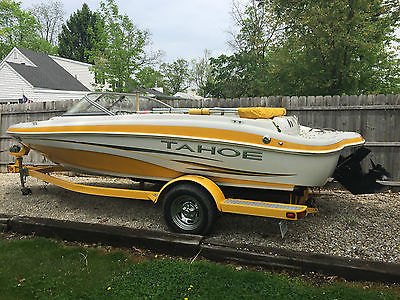 2007 Tahoe Q4i with 4.3 MPI Mercruiser and matching trailer