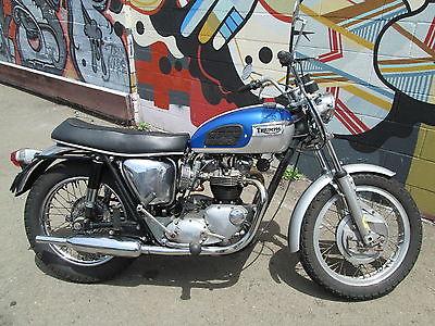 Triumph : Bonneville 1966 triumph bonneville all rebuilt with receipts