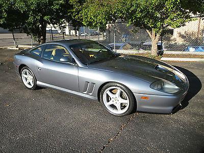 Ferrari : 550 Base Coupe 2-Door 1998 ferrari 550 maranello base coupe 2 door 5.5 l