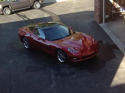 Chevrolet : Corvette Base Coupe 2-Door Redline Racing Corvette