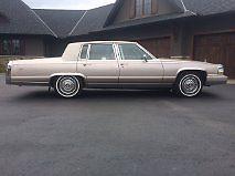 Cadillac : Brougham Brougham 1991 cadillac brougham 5.7 l