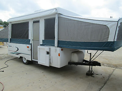 JAYCO POPUP CAMPER 1998 WITH ROOF AIR