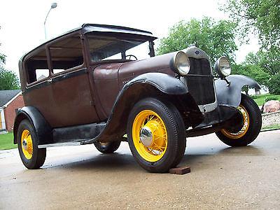 Ford : Model A Tudor Sedan 1929 ford model a tudor sedan