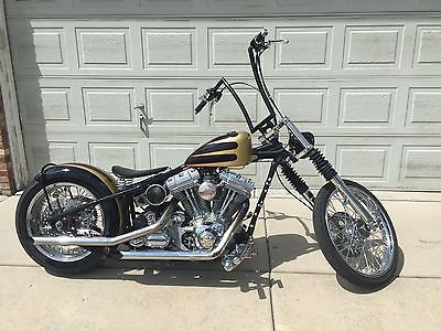 Custom Built Motorcycles : Chopper Bad Ass 2004 Demon Cycles Bobber Donnie Smith Frame HD TC88 High End Parts