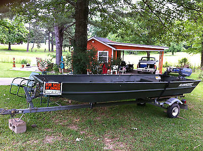 14 Ft Aluminum Boat With Trailer Boats for sale