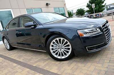 Audi : A8 L Long Wheel Base LOADED MSRP $100k AUDI CARE Premium Driver Assist Active Cruise Panorama Cold Weather 360 Camera AUDI CARE