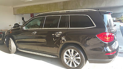 Mercedes-Benz : GL-Class GL 2013 black gl 350 diesel w distronics and much more