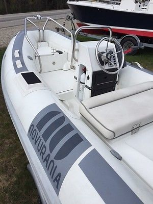Novurania 12' Inflatable Center Console Boat 2004