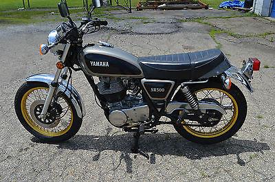 Yamaha : Other 1981 yamaha sr 500 with 1369 miles