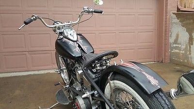 Custom Built Motorcycles : Bobber 1948 panhead replica