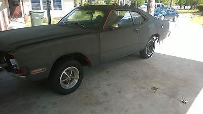 Dodge : Other 2-door coupe 1972 dodge demon dart duster chasis project restoration race solid look