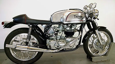 Norton : Triton 1966 triton norton triumph t 120 r featherbed bonneville brand new build