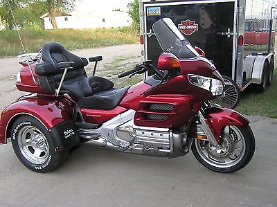 Honda : Gold Wing 2008 honda goldwing trike with new motor trike kit w irs and air ride