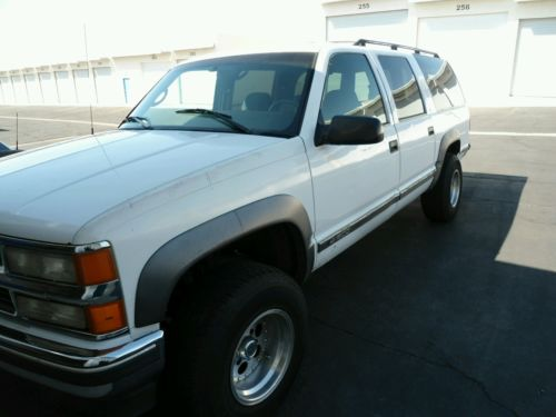 Chevrolet : Suburban K1500 4WD LOOK!! GR8 BUY!! --*96' Chevy Sub. 1500 1/2 Ton 4x4*-- ON $ALE NOW!! LOOK!!