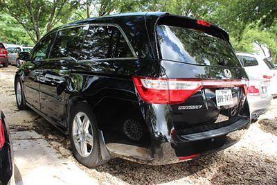 Honda : Odyssey Touring Touring Low Miles 4 dr Van Automatic Gasoline 3.5L V6 Cyl BLACK