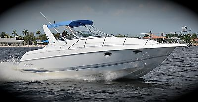 Chris CRAFT sea RAY EXPRESS cruiser CUDDY yacht REGAL cobalt MAKE OFFER clean