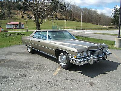 Cadillac : DeVille 4-door Sedan 1973 cadillac deville sedan