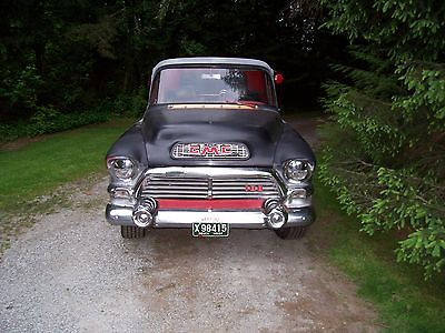 Chevrolet : Other Pickups deluxe 1957 gmc old hot rod ratrod v 8 like apache