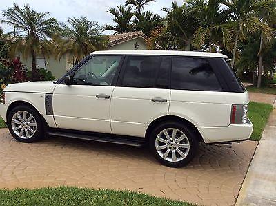 Land Rover : Range Rover Range Rover supercharged 2008 land rover range rover supercharged awd