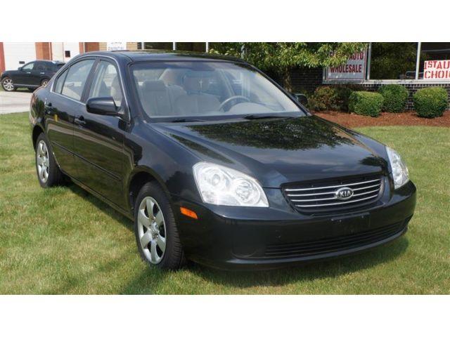 Kia : Optima  LX BLACK ONLY 56K MILES WARRANTY ONE OWNER CLEAN  2008 kia optima lx black only 56 k miles warranty one owner clean carfax