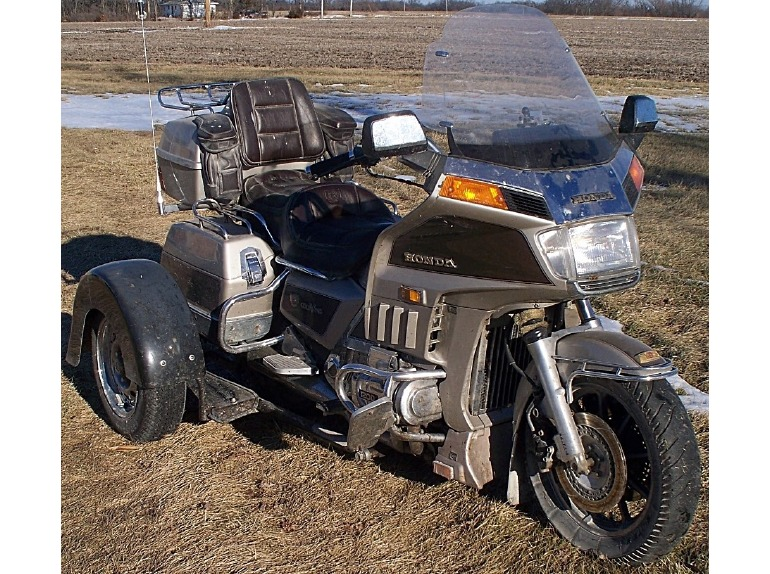 honda goldwing 1200 with trike kit motorcycles for sale. Black Bedroom Furniture Sets. Home Design Ideas