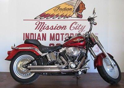 Harley-Davidson : Softail 2008 harley davidson flstf softail fat boy