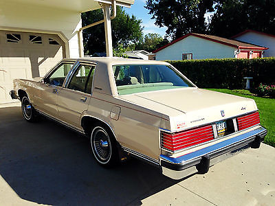 Mercury : Grand Marquis LS Sedan 4-Door 1985 mercury grand marquis ls sedan 4 door 5.0 l