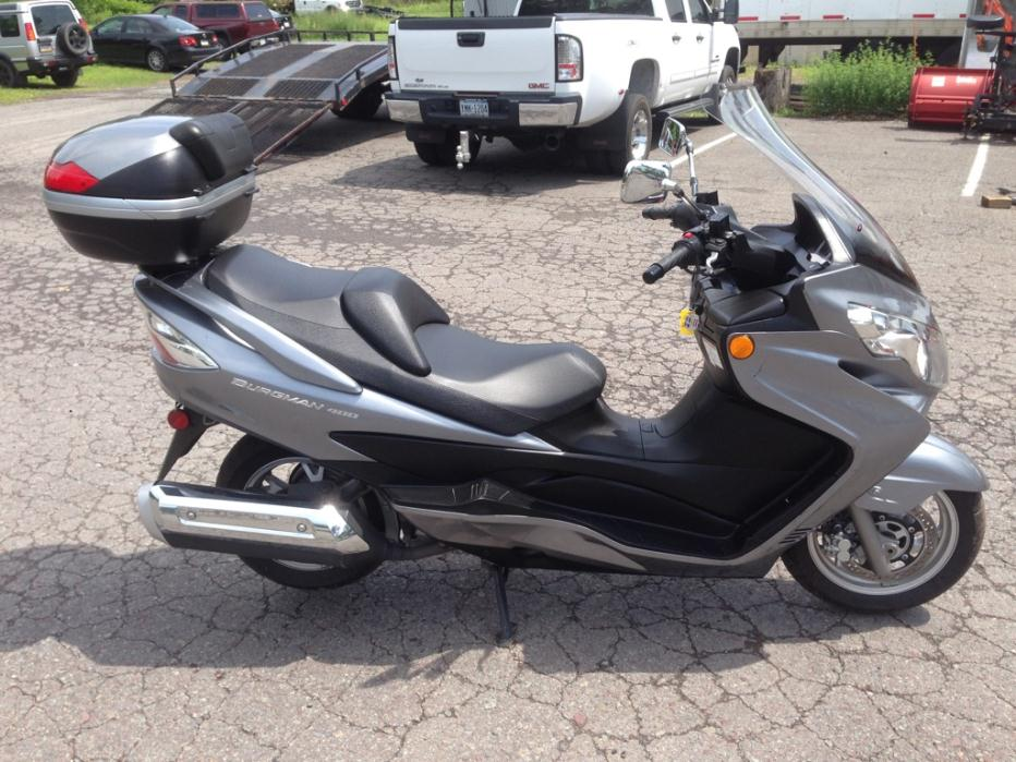 Suzuki : Other Burgman 2007 suzuki burgman 400 scooter used an 400 400 automatic grey