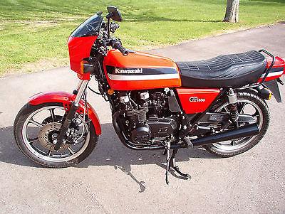 Kawasaki : Other 1981 kawasaki gpz 550 gpz 550 kz