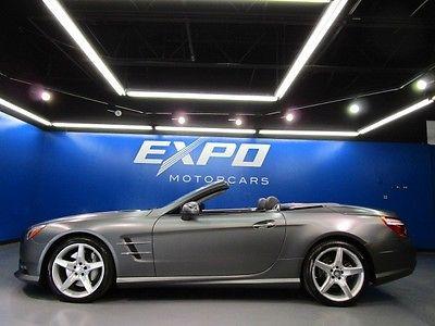 Mercedes-Benz : SL-Class SL550 Mercedes-Benz SL550 SPORT Matte Grey Premium  Magic Sky Driver Assist $122kMSRP!